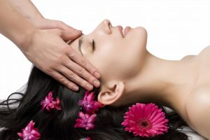 beauty facial massage