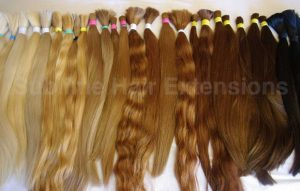 Russian Hair Extensions Samples